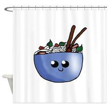Chibi Pho v2 Shower Curtain