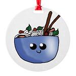 Chibi Pho v2 Round Ornament