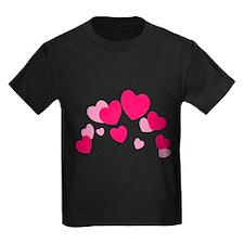 Valentine hearts T