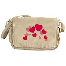Valentine hearts Messenger Bag