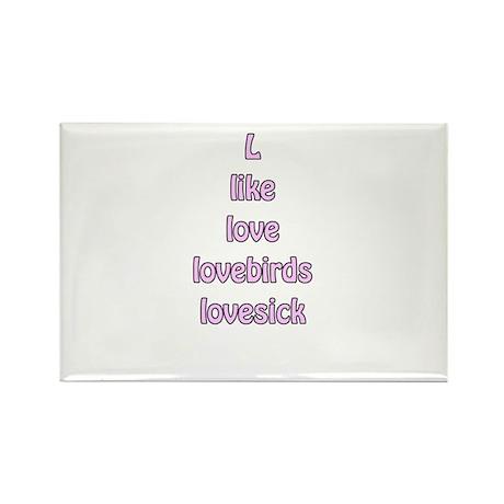 L like love lovebirds lovesick valentines day tee