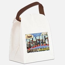 Greetings from Seattle Canvas Lunch Bag