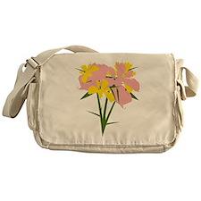 Orchid Messenger Bag