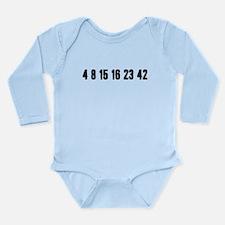 Lost Numbers Long Sleeve Infant Bodysuit