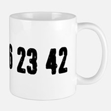 Lost Numbers Small Mugs