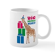 Birthday Wish Giraffe Mug