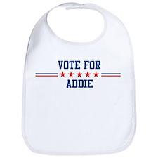 Vote for ADDIE Bib