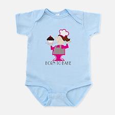 Born Cupcake Baker Infant Bodysuit