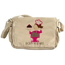 Born Cupcake Baker Messenger Bag