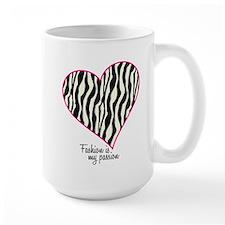 Zebra Fashion Passion Mug