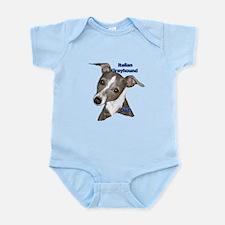Italian Greyhound dad Infant Bodysuit