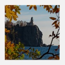 Split Rock Lighthouse Tile Coaster