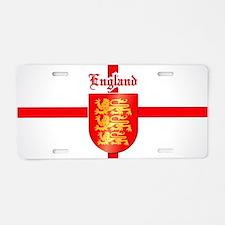 England Aluminum License Plate