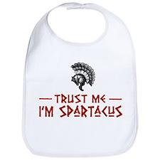 Trust Me I'm Spartacus Bib