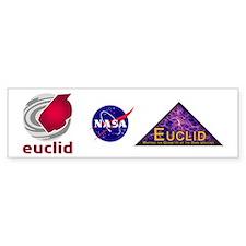 NASA ESA Euclid Bumper Sticker