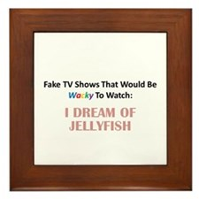 Fake TV Shows Series: I DREAM OF JELLYFISH Framed