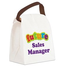 Future Sales Manager Canvas Lunch Bag