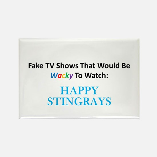 Fake TV Shows Series: HAPPY STINGRAYS Rectangle Ma