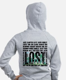 Lost Stuff 2 Zip Hoody