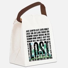 Lost Stuff 2 Canvas Lunch Bag