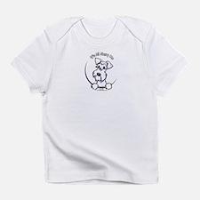 White Schnauzer IAAM Logo Infant T-Shirt
