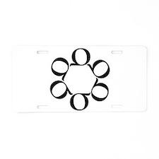 LEAN/Six Sigma Aluminum License Plate