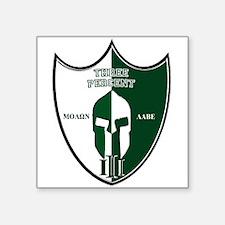 Three Percent Shield - Green/White