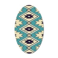 Native Chieftain Pattern Wall Decal