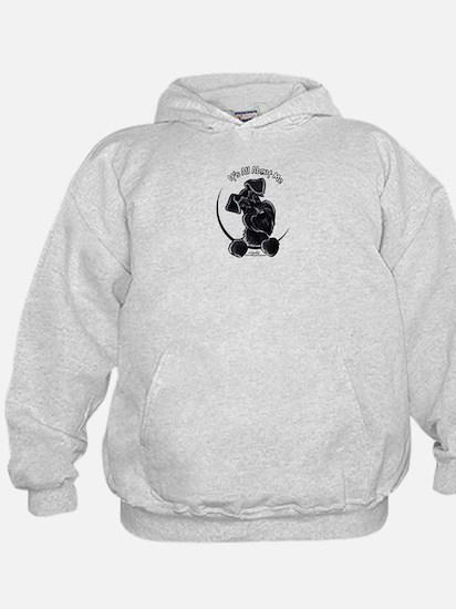 Black Schnauzer IAAM Logo Hoodie