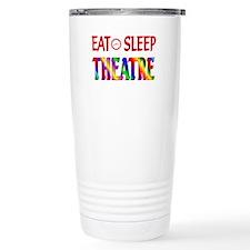 Eat Sleep Theatre Travel Mug