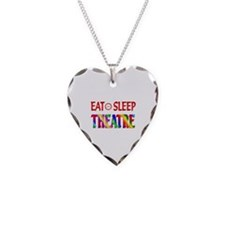 Eat Sleep Theatre Necklace