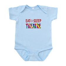 Eat Sleep Theatre Infant Bodysuit