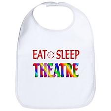 Eat Sleep Theatre Bib
