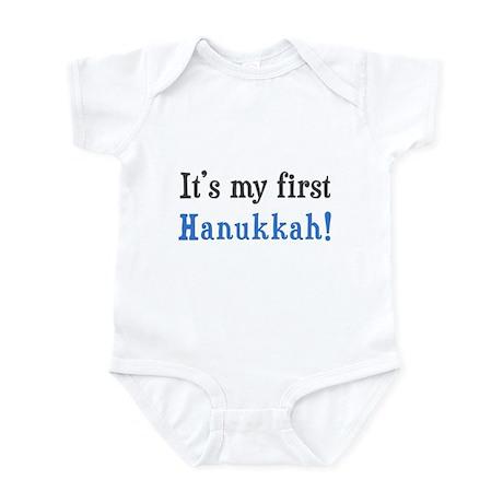 It's My First Hanukkah Infant Bodysuit