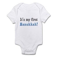 It's My First Hanukkah Infant Bodysuit