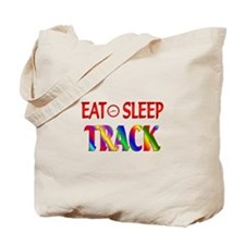 Eat Sleep Track Tote Bag