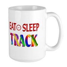 Eat Sleep Track Ceramic Mugs
