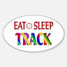 Eat Sleep Track Decal
