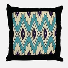 Native Chieftain Pattern Throw Pillow