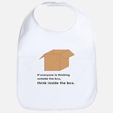Think Inside the Box Bib
