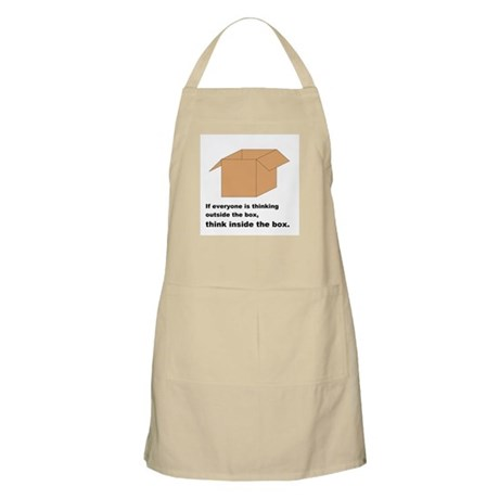 Think Inside the Box Apron