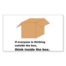 Think Inside the Box Decal