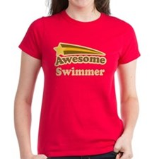 Awesome Swimmer gift Tee
