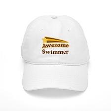 Awesome Swimmer gift Baseball Cap