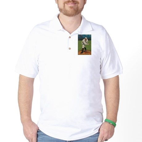 Atlas: Vintage Baseball Card T Shirts Golf Shirt
