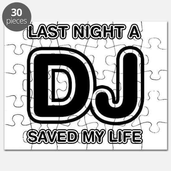 Last Night A DJ Saved My Life Puzzle