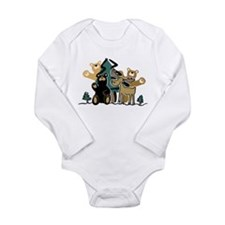 Woodland Firends Infant Creeper Body Suit