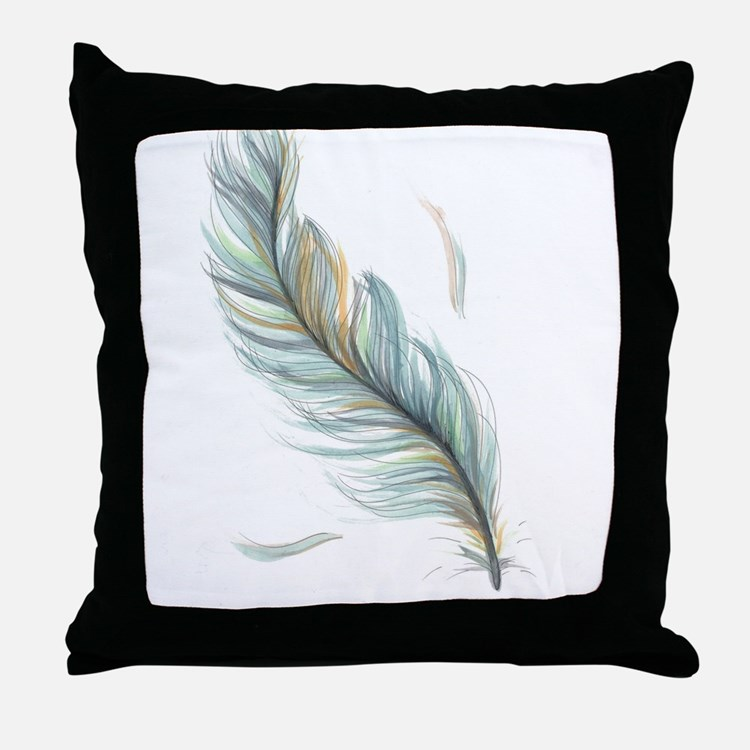 Decorative Pillows Feather : Feather Pillows, Feather Throw Pillows & Decorative Couch Pillows