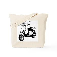 Black Rough Buddy Tote Bag