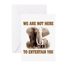 We Are Not Here Greeting Cards (Pk of 10)
